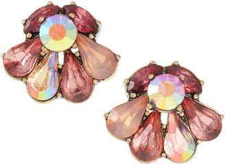 Lydell NYC Multi-Stone Stud Earrings