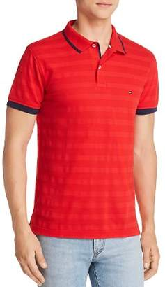 Tommy Hilfiger Tipped Tonal-Stripe Polo Shirt