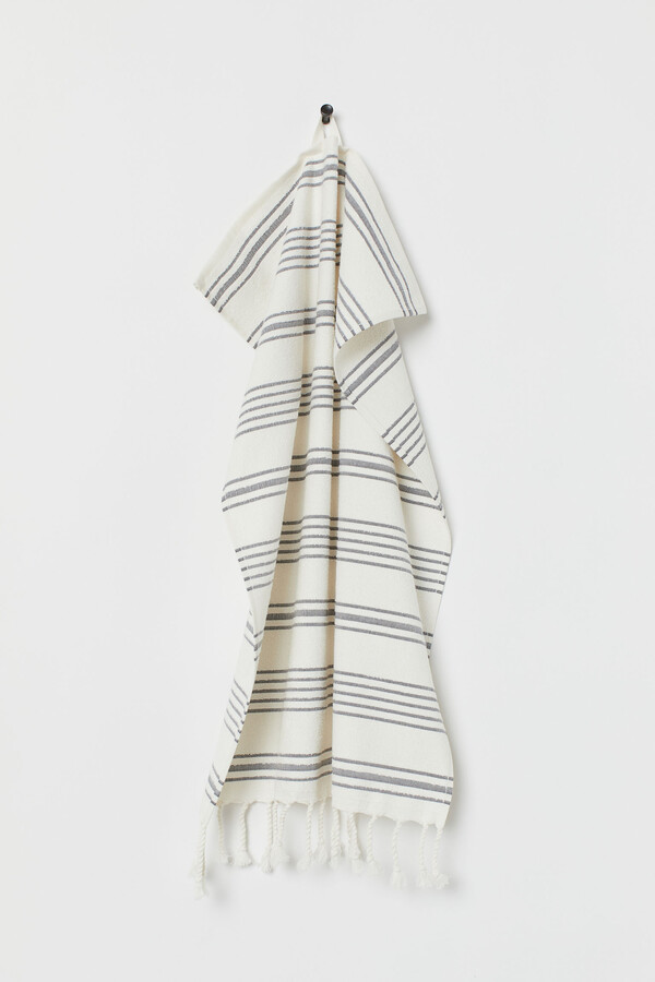 H&M Striped Hand Towel