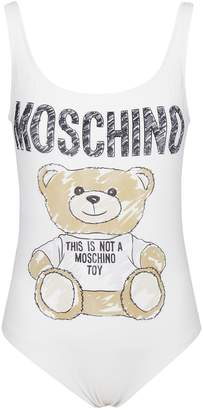 Moschino Sketch Bear Swimsuit