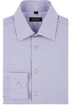 Barneys New York Men's Checked Cotton Poplin Dress Shirt