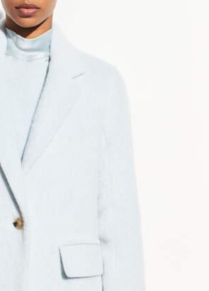 Long Hair Faux Fur Coat