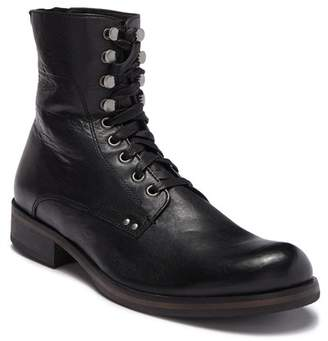 John Varvatos Star B Leather Lace-Up Boot