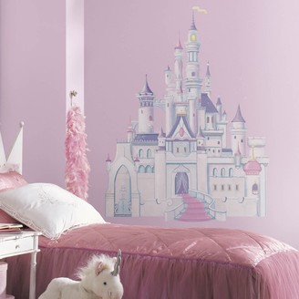 Roommates Disney Princess Castle Peel & Stick Wall Decal