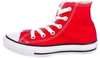 Converse Boys' Canvas High-Top Sneakers w/ Tags