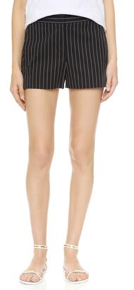 DKNY Elastic Waist Shorts $335 thestylecure.com