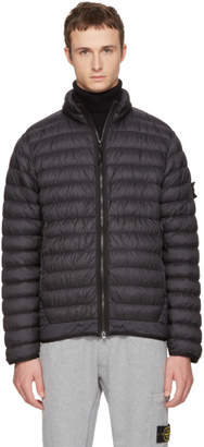 Stone Island Black Lightweight Down Jacket