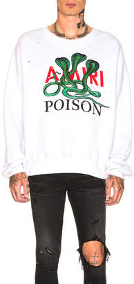 Amiri Poison Loose Fit Crewneck