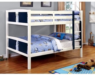 Furniture of America Claborn Full Over Full Bunk Bed, Multiple Colors