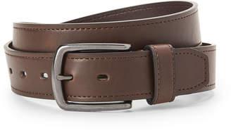 Levi's Brown Faux Leather & Gunmetal Belt