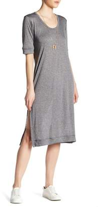C&C California Indie Slouchy Midi Tee Dress