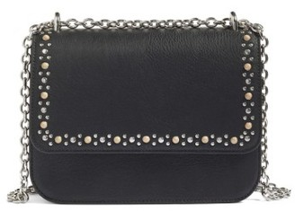 Chelsea28 Dahlia Stone Faux Leather Crossbody Bag - Black $79 thestylecure.com