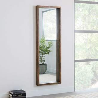 west elm Emmerson® Modern Reclaimed Wood Floor Mirror