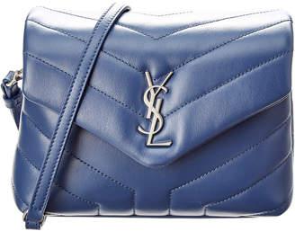 Saint Laurent Loulou Toy Matelasse Y Leather Shoulder Bag