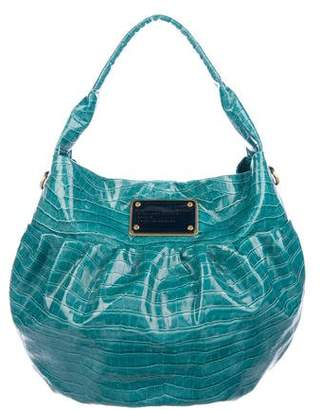 Marc by Marc Jacobs Embossed Patent Leather Hobo