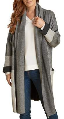 Barbour Deveron Shawl Collar Long Knit Cardigan