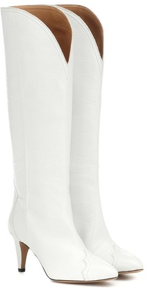 Isabel Marant Lestan knee-high leather boots