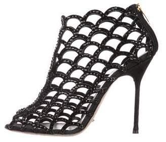 Sergio Rossi Mermaid Caged Sandals