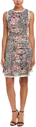 Nicole Miller Silk A-Line Dress