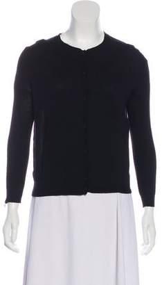 Nina Ricci Wool Button-Up Cardigan