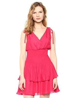 6c5000a5d2c3 Parker Women's Violina Sleeveless Smocked Waist Mini Dress