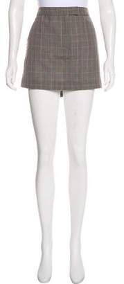Stella McCartney Wool-Blend Mini Skirt w/ Tags