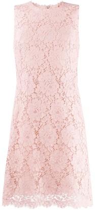 Dolce & Gabbana lace mini sheath dress