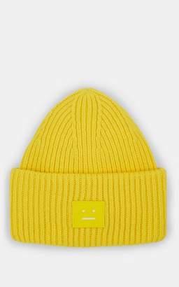 Acne Studios Men's Pansy Wool Beanie - Yellow