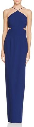 Aidan Aidan Side Cut-Out Column Dress - 100% Bloomingdale's Exclusive $195 thestylecure.com