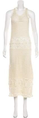 Tory Burch Casual Sleeveless Midi Dress