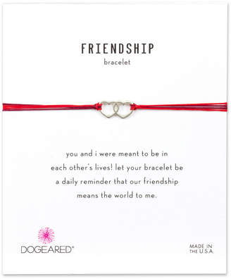 Dogeared Friendship Silver Adjustable Bracelet