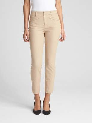 Gap Signature Skinny Ankle Pants in Stretch Linen Twill