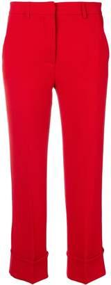 L'Autre Chose slim turn up trousers