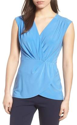 Chaus Knot Front Sleeveless Top