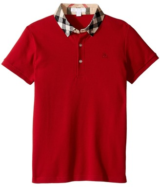Burberry Kids - William Polo Boy's Short Sleeve Knit $80 thestylecure.com