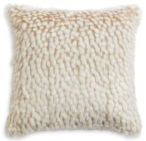 Marks and Spencer Speckled Faux Fur Cushion