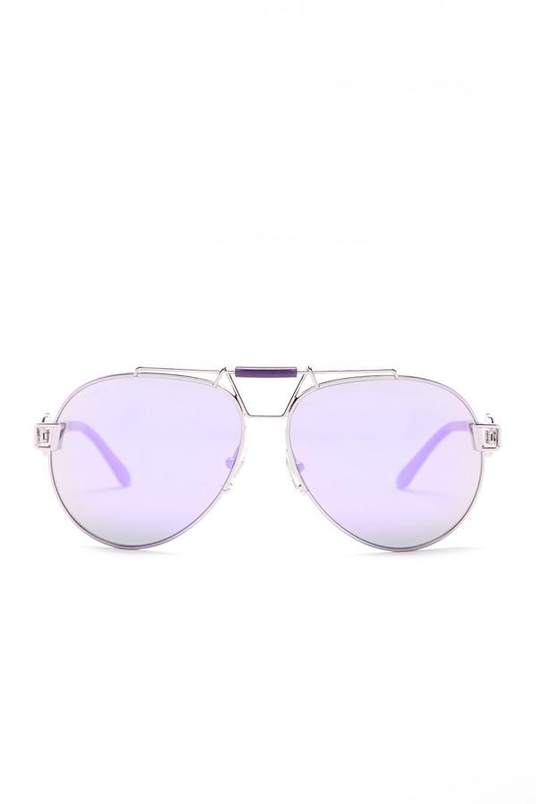 VersaceVersace Women's Rock Icons Aviator Sunglasses