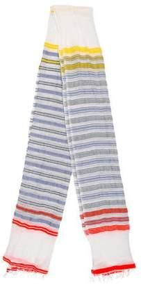 Lemlem Patterned Striped Scarf