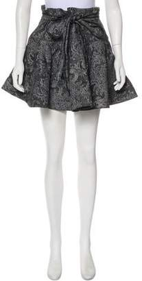 Marc Jacobs Brocade Mini Skirt
