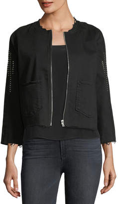 3x1 Cole Studded Denim Jacket
