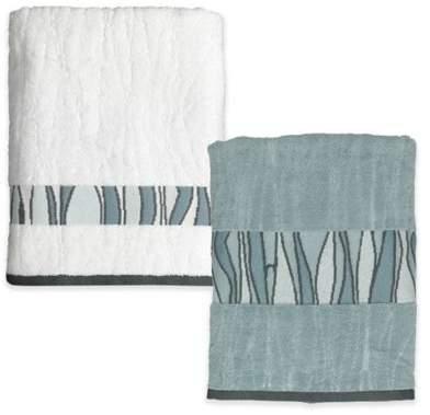 Shell Rummel Tidelines Bath Towel in Blue