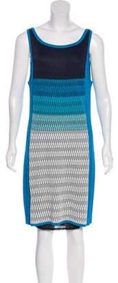 Magaschoni Knit Mini Dress w/ Tags