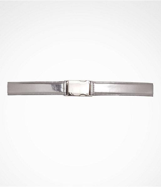 Adjustable Mirrored Buckle Belt
