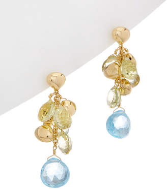 Marco Bicego Acapulco 18K Yellow Gold Gemstone Drop Earrings