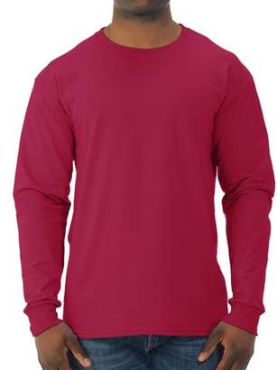JERZEES Big Mens Dri-Power Long Sleeve Crewneck T Shirt