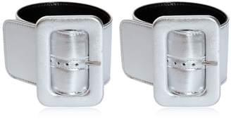 ATTICO Metallic Ankle Cuffs