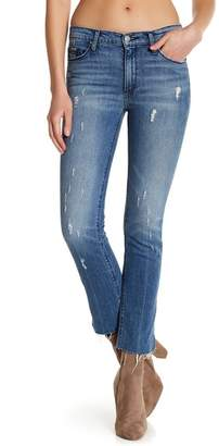 Black Orchid Bardot Straight Fray Hem Jeans