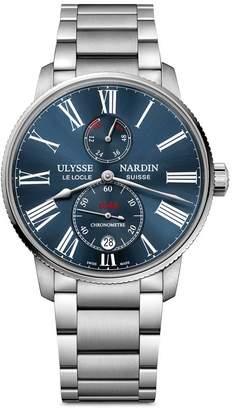 Ulysse Nardin Stainless Steel Marine Torpilleur Watch 42mm