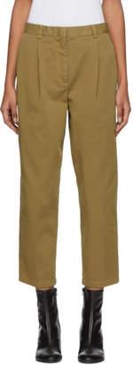 Acne Studios Brown Tabea Co Chino Trousers