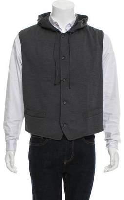 Michael Kors Hooded Wool Vest w/ Tags